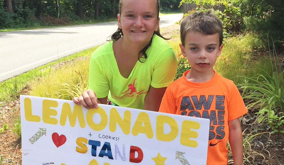 Lemonade Stand Raises Money For Loaves & Fishes
