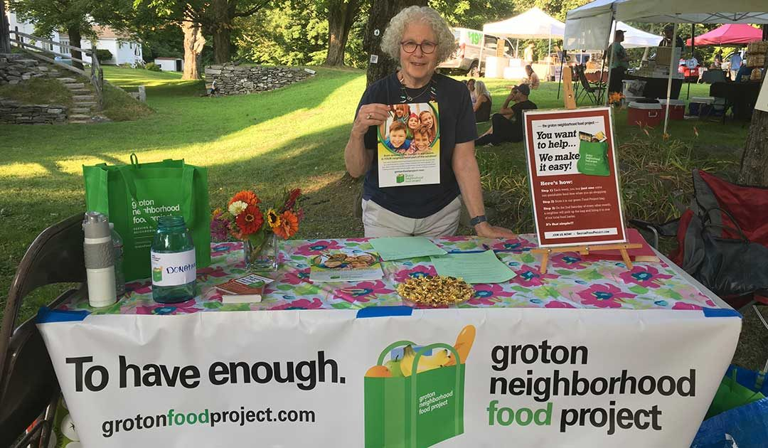 Stop By Our Table at the Groton Farmers Market!