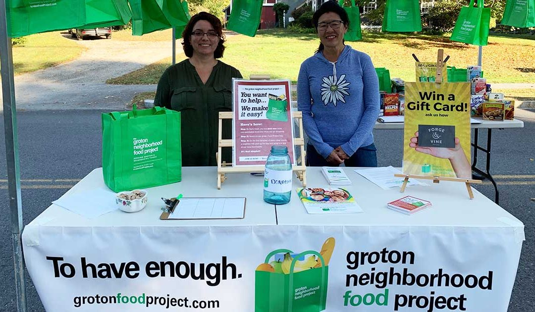 Grotonfest Great Success for Food Project